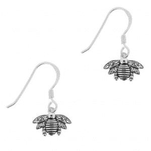 Bee Hook Earrings
