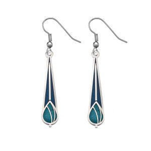 sea gems pendant earrings