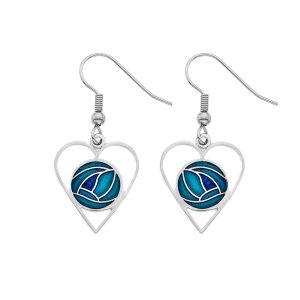 Mackintosh HeartEarring Turquoise
