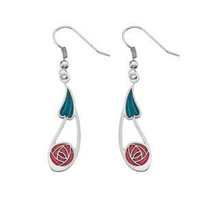 Sea gems eanamel earring